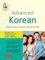 Advanced Korean