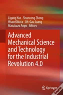 Wook.pt - Advanced Mechanical Science And Technology For The Industrial Revolution 4.0