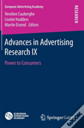 Advances In Advertising Research Ix