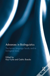 Advances In Biolinguistics Fujita R
