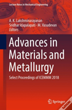 Wook.pt - Advances In Materials And Metallurgy