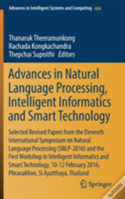 Wook.pt - Advances In Natural Language Processing, Intelligent Informatics And Smart Technology