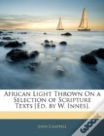 African Light Thrown On A Selection Of S