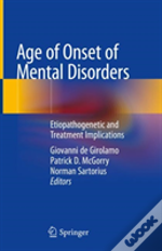 Age Of Onset Of Mental Disorders