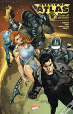 Wook.pt - Agents Of Atlas: The Complete Collection Vol. 1