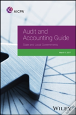 Wook.pt - Aicpa Audit And Accounting Guide State And Local Governments