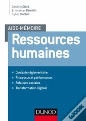Aide-Memoire ; Ressources Humaines