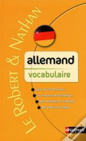 Allemand ; Vocabulaire