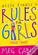 Allie Finkle'S Rules For Girls: Stage Fright
