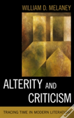 Wook.pt - Alterity And Criticism Tracincb