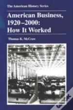 AMERICAN BUSINESS, 1920-2000