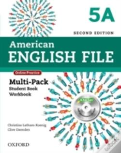 Wook.pt - American English File: 5: Multi-Pack A With Online Practice And Ichecker