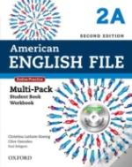 American English File Second Edition: Level 2: Multipack A With Online Practice And Ichecker