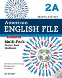 Wook.pt - American English File Second Edition: Level 2: Multipack A With Online Practice And Ichecker