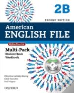 American English File Second Edition: Level 2: Multipack B With Online Practice And Ichecker