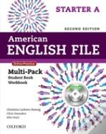 American English File Second Edition: Starter: Multipack A With Online Practice And Ichecker