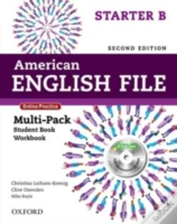 Wook.pt - American English File Second Edition: Starter: Multipack B With Online Practice And Ichecker