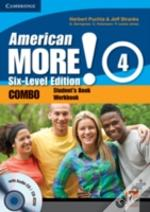American More! Six-Level Edition Level 4 Combo With Audio Cd/C-Rom