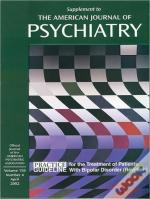 American Psychiatric Association Practice Guidelines For The Treatment Of Patients With Bipolar Disorder