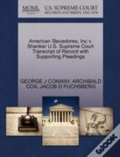 American Stevedores, Inc V. Shenker U.S. Supreme Court Transcript Of Record With Supporting Pleadings
