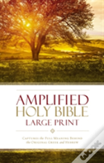Amplified Holy Bible, Large Print