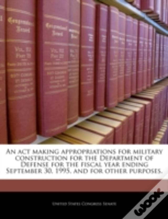 An Act Making Appropriations For Military Construction For The Department Of Defense For The Fiscal Year Ending September 30, 1995, And For Other Purp