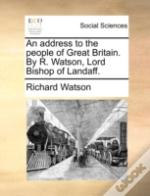 An Address To The People Of Great Britai