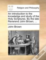 An Introduction To The Knowledge And Stu