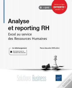 Wook.pt - Analyse Et Reporting Rh - Excel Au Service Des Ressources Humaines