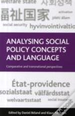 Analysing Social Policy Concepts & Langu