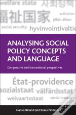 Analysing Social Policy Concepts And Language