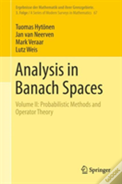 Wook.pt - Analysis In Banach Spaces
