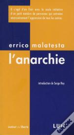 Anarchie (L') Nouvelle Edition