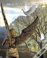 Angel White Doves New Zealand  Stunning Landscape  Remberance  Funeral  Blank Page Guest Book