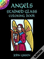 Angels Stained Glass Colouring Book