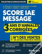Annales Score Iae Message 2016, 2017, 2018