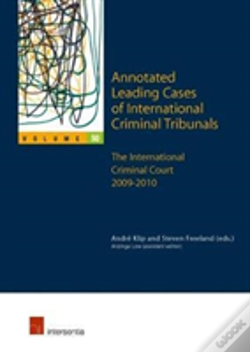 Wook.pt - Annotated Leading Cases Of International Criminal Tribunals