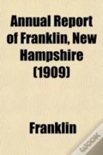 Annual Report Of Franklin, New Hampshire