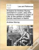 Answers For Andrew Murray Merchant In Le