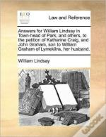 Answers For William Lindsay In Town-Head