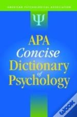 Apa Concise Dictionary Of Psychology