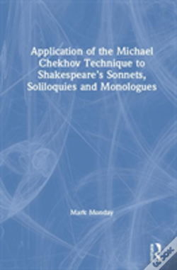 Wook.pt - Application Of The Michael Chekhov Technique To Shakespeare'S Sonnets, Soliloquies And Monologues