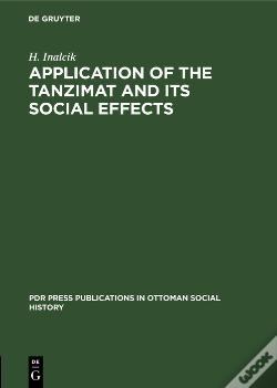 Wook.pt - Application Of The Tanzimat And Its Social Effects