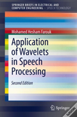 Wook.pt - Application Of Wavelets In Speech Processing