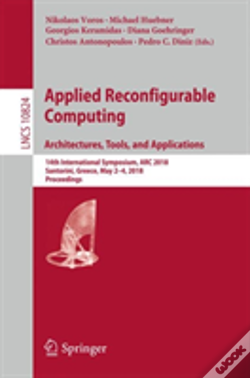 Wook.pt - Applied Reconfigurable Computing. Architectures, Tools, And Applications
