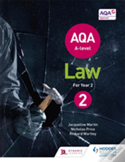 Wook.pt - Aqa A-Level Law For Year 2