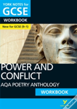 Wook.pt - Aqa Poetry Anthology - Power And Conflict: York Notes For Gcse (9-1) Workbook