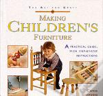 Art And Craft Of Making Children'S Furniture