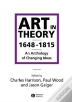 Art In Theory 1648-1815