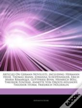 Articles On German Novelists, Including